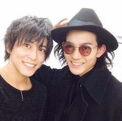 竜星涼(右)と佐野岳(左)
