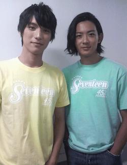 福士蒼汰(左)と竜星涼(右)